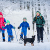 Die Region lädt auch zum Winterwandern ein.