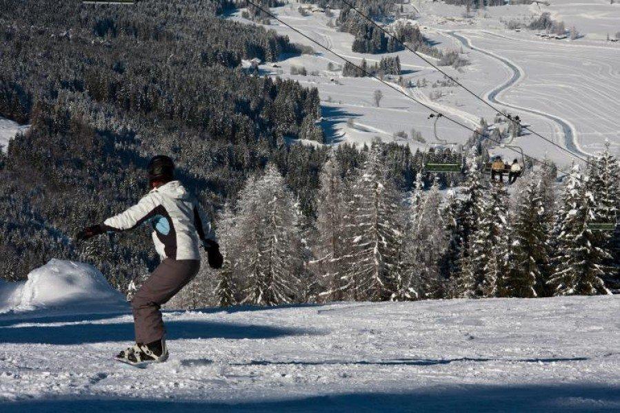 Cross-Country Skiing Weissensee • Nordic skiing • Tracks