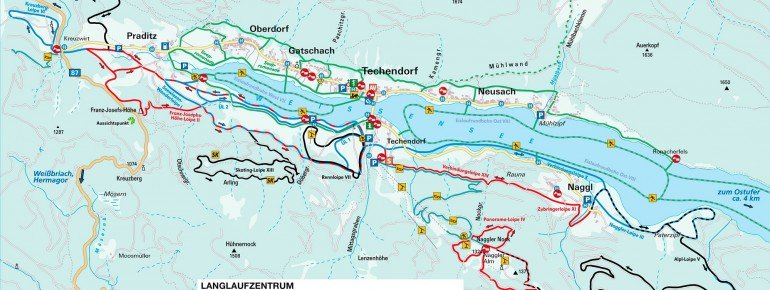 Trail Map Weissensee
