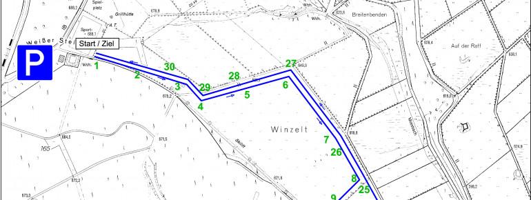 Loipenplan Udenbreth - Hollerath