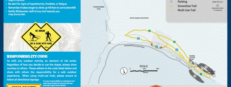 Trail Map Whitewater Nordic Centre