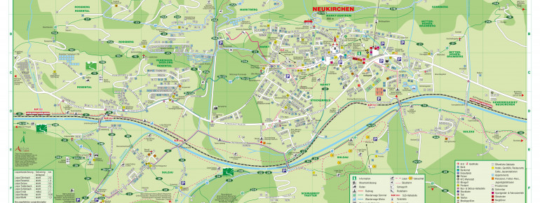 Trail Map Wildkogel