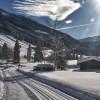 Rund 6 Kilometer lang ist die Loipe von Oberau nach Niederau.