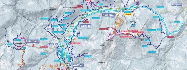 Trail Map Wildschönau