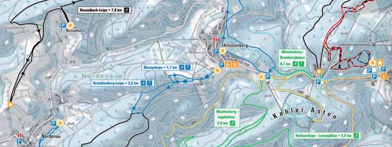 Loipenplan Altastenberg