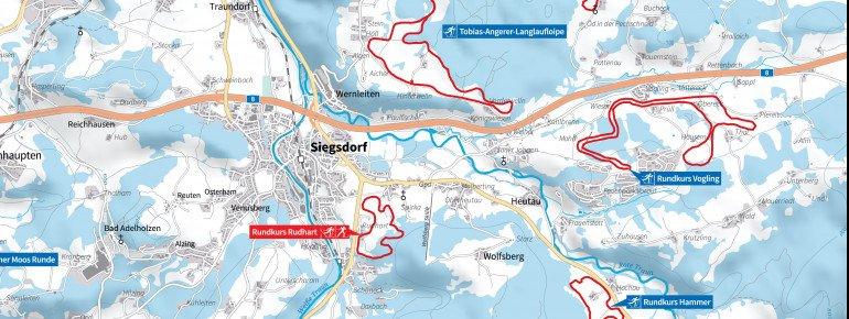 Loipenplan Siegsdorf