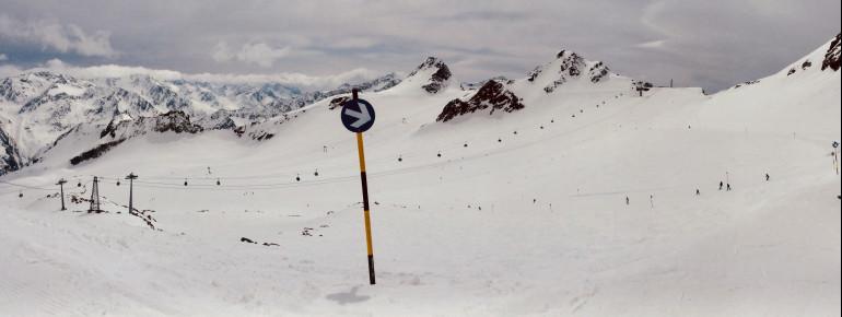 Tiefenbachgletscher in Sölden