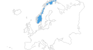 map of all ski Resorts in Norway