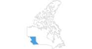 map of all ski resorts in British Columbia