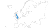 map of all ski resorts in Great Britain and Northern Ireland