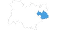 Karte der Wetter in Savoyen