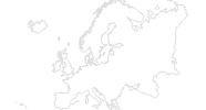 Karte der Skigebiete in Andorra