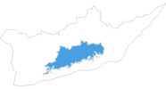 Karte der Skigebiete in Uusimaa