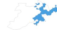 Karte der Skigebiete in Solothurn und Region