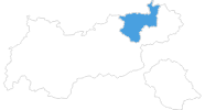 map of all ski resorts Kufsteinerland