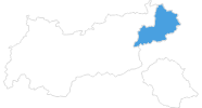 map of all ski resorts in Kitzbühel