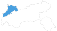 map of all ski resorts in the Naturparkregion Reutte