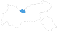 map of all ski resorts in the Olympiaregion Seefeld