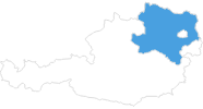 map of all ski Resorts in Lower Austria