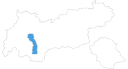 map of all ski resorts in the Pitztal