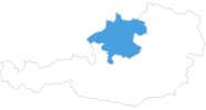map of all ski resorts in Upper Austria