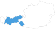 map of all ski resorts in Tyrol