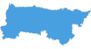 Karte der Skigebiete im Kantabrisches Gebirge