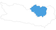 map of all ski resorts Regional experience Hochosterwitz - Kärntenmitte