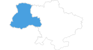 map of all ski resorts in the Western Ukraine