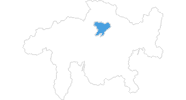 map of all ski resorts in Arosa
