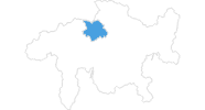 map of all ski resorts in Chur