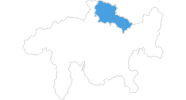 map of all ski resorts in the Prättigau