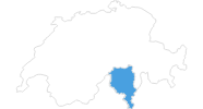 map of all ski resorts in Ticino