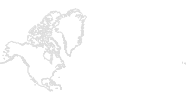 Karte der Langlaufgebiete in Nordamerika