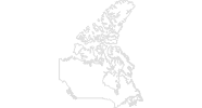 Karte der Langlaufgebiete in Nova Scotia