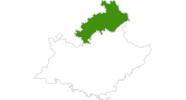 Karte der Loipenberichte in Hautes-Alpes