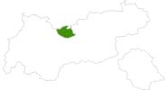 Karte der Webcams in der Olympiaregion Seefeld