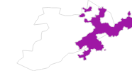 map of all lodging in Solothurn and region