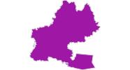 Karte der Unterkünfte in den Pyrenäen