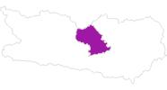 map of all lodging in the Region Nockberge Bad Kleinkirchheim