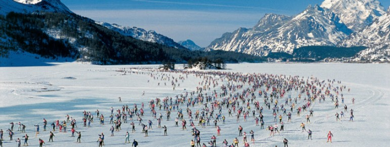 Event-Highlight: der Engadin Skimarathon