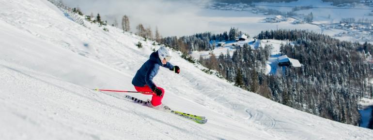 Skifahren in der Christlum