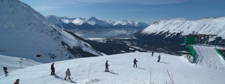 Das Alyeska Ski Resort bietet 76 Pisten