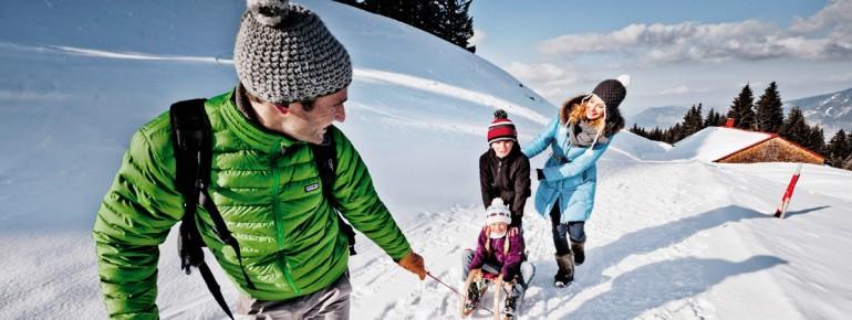 Im Allgäu gibt es viele familienfreundliche Skigebiete