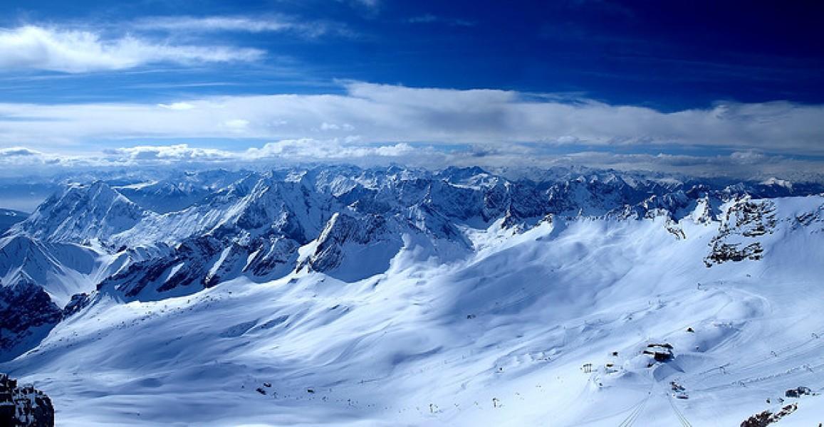 Schneehöhe Deutschland