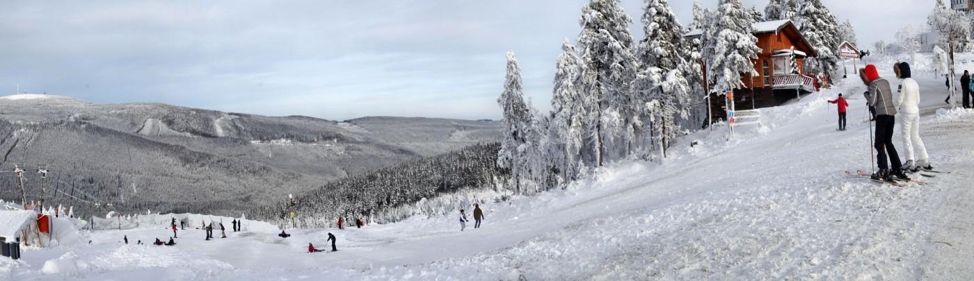 Schneehöhen Harz