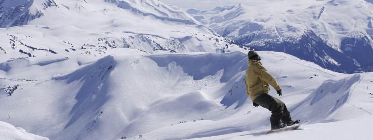 Whistler Blackcomb ist das größte Skigebiet in Kanada