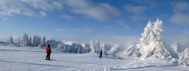 Traumhaftes Winterpanorama in Hinterstoder
