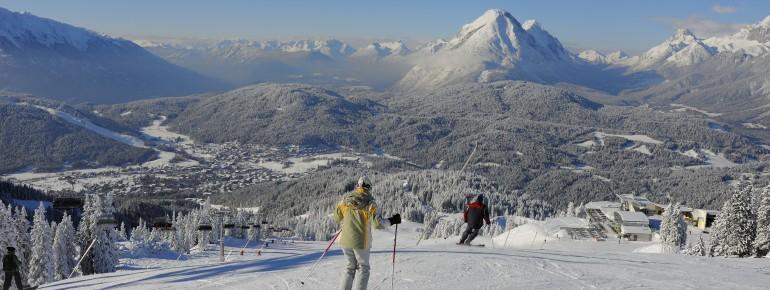 Pistenspaß im Skigebiet Rosshütte
