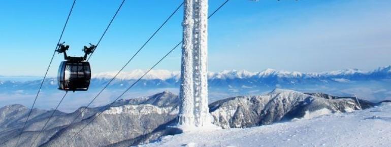 Das Skigebiet Jasná ist das größte der Slowakei